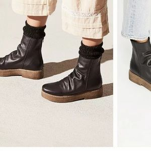 New Free people leather Byron boot